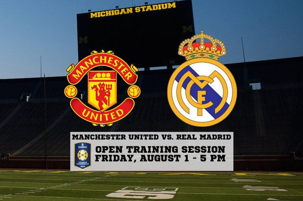Manchester United v Real Madrid International_Champions_Cup 2018