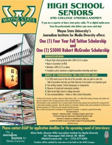 JIM Scholarship, WSU