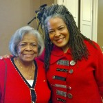 Barbara Meadows, Founding Member, Ann Arbor Alumnae Chapter, Delta Sigma Theta Sorority, Incorporated. Deborah Meadows, Ann Arbor Alumnae Chapter Member.