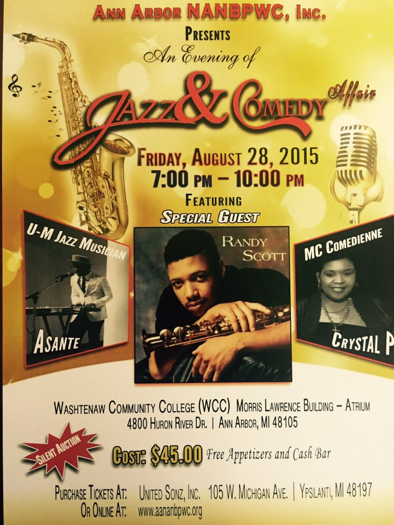 Jazz & Comedy event