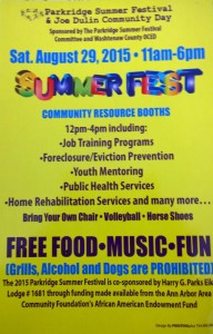 Joe Dulin Community Day & Parkridge Festival
