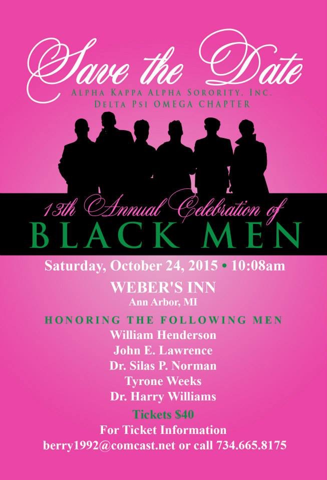 AKA Annual Celebration of Black Men